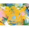 PTM Images Colorful Abstract Strokes Painting Print on Wrapped Canvas