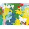 PTM Images Colorful Abstract Strokes II Painting Print on Wrapped Canvas