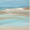 PTM Images Harbor Wave Painting Print on Wrapped Canvas