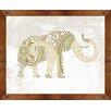 PTM Images Elephant Framed Painting Print