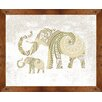 PTM Images Elephant II Framed Painting Print