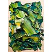 PTM Images Verde Painting Print on Wrapped Canvas
