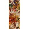 PTM Images Floral Abstract Painting Print on Wrapped Canvas