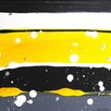 PTM Images Striped Abstract by Jennifer Kennedy Painting Print on Wrapped Canvas