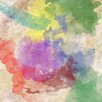 PTM Images Abstract Painting Print on Wrapped Canvas