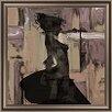 PTM Images Feminine Silhouette I Framed Graphic Art