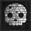 PTM Images Halloween Skull Framed Graphic Art