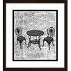 PTM Images 'Garden Furniture' Framed Graphic Art