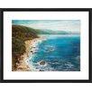 PTM Images Ocean Scape Framed Painting Print