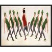 PTM Images '9 Ladies Dancing' Framed Painting Print