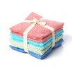 Textiles Plus Inc. Luxury Hotel/Spa Assorted Wash Cloth (Set of 8)