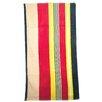 Textiles Plus Inc. Velour Stripe Beach Towel
