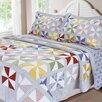 Textiles Plus Inc. Carnival Patchwork Quilt