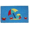 Imports Decor Crab's Beach Doormat