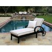 Sunset West Monterey Chaise Lounge with Self Welt Cushion