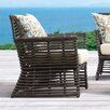Sunset West Venice Club Chair with Self Welt Cushion