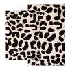 Chesapeake Merchandising Inc. Safari Leopard Contemporary Bath Rug (Set of 2)