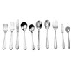 David Shaw Silverware 45 Piece Helena Splendid Flatware Set