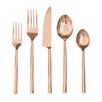 David Shaw Silverware 20 Piece Quarry Flatware Set