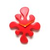 LumiSource Mini Splat Wall Clock