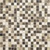 "Daltile Stone Radiance 0.63"" x 0.63"" Slate Mosaic Tile in Multi"