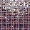 "Daltile City Lights 0.5"" x 0.5"" Glass Mosaic Tile in Purple"