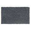 InterDesign Microfiber Frizz Shower Accent Bath Rug