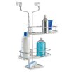 InterDesign Adjustable Over-the-Door 2 Shelf Shower Caddy