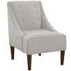 Skyline Furniture Napa Cotton Swoop Arm Chair