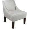 Skyline Furniture Cross Section Swoop Arm Chair