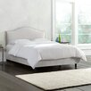 Skyline Furniture Mystere Upholstered Panel Bed