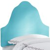 Skyline Furniture Microsuede High Arch Headboard