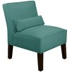 Skyline Furniture Velvet Slipper Chair