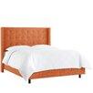 Skyline Furniture Polyester Upholstered Panel Bed
