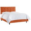 Skyline Furniture Tufted Upholstered Panel Bed