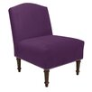 Skyline Furniture Hillside Nail Button Camel Side Chair