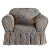 Sure Fit Matelasse Damask Armchair Slipcover