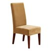 Sure Fit Stretch Pique Short Chair Slipcover