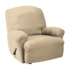 Sure Fit Stretch Faux Suede T-Cushion Recliner Slipcover