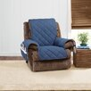 Sure Fit Denim Sherpa Recliner Slipcover