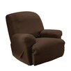 Sure Fit Simple Stretch Subway Recliner Slipcover