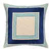 Trina Turk Brea Embroidered Linen Throw Pillow