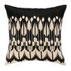 Trina Turk Lomita Embroidered Linen Throw Pillow