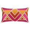 Trina Turk Los Altos Embroidered Linen Lumbar Pillow
