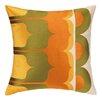 Trina Turk Delano Embroidered Linen Throw Pillow