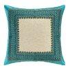 Trina Turk Terranea Embroidered Linen Throw Pillow