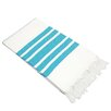 Linum Home Textiles Herringbone Turkish Cotton Pestemal / Fouta Bath Towel