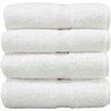 Linum Home Textiles Luxury Hotel & Spa Turkish Cotton 4 Piece Bath Towel Set (Set of 4)