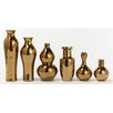 Tozai Vases Includes Assortment of Traditional Shapes (Set of 6)