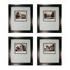 Sterling Industries Mini Estates 4 Piece Framed Graphic Art Set